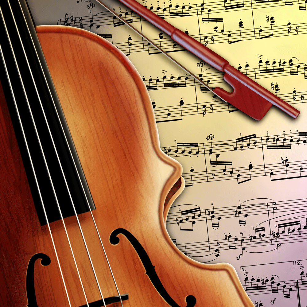 Violin works on for Old house music classics